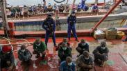 4 Kapal Nelayan Vietnam Tangkap Ikan Secara Ilegal di Perairan Natuna Utara