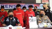 5 Pengedar Narkoba Ditangkap Ditresnarkoba Polda Jateng, 900 Gram Sabu Diamankan