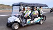 Foto-Foto Menko Airlangga Hartarto Cek Kesiapan Sirkuit Mandalika Gelar World Superbike