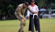 Tentara AS Takjub Disuguhi Ragam Kesenian Indonesia hingga Aksi Prajurit Raider