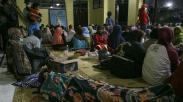 Ratusan Warga Lereng Gunung Merapi Mengungsi