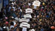 Ribuan Warga Guatemala Iringi Pemakaman Korban Erupsi Gunung Fuego