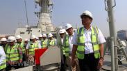 Luhut Cek Proyek Kapal Pesanan Kemenhan di PT PAL Surabaya