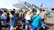 Kloter Pertama Jamaah Calon Haji Embarkasi Surabaya Berangkat ke Tanah Suci
