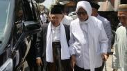 KH Ma'ruf Amin Safari Politik ke Sejumlah Pesantren di Jawa Timur
