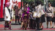 2.000 Pasukan Perempuan Mengikuti Peringatan HUT ke-70 Polwan