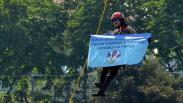 Aksi Polwan Unjuk Kemampuan di Mapolda Jatim