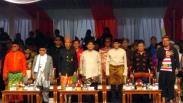 Deklarasi Kampanye Damai, Capres-Cawapres Pakai Baju Adat