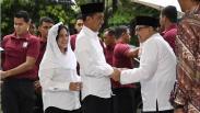 Presiden Jokowi Silaturahmi dengan Quraish Shihab di Pesantren Bayt Alquran