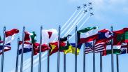 Aksi Menegangkan Tim Aerobatik Jupiter TNI AU di Langit Malaysia