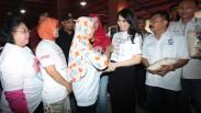 Liliana Tanoesoedibjo Serahkan Beras Murah untuk Warga Jakarta Selatan