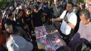 Polisi Pamer 20 Bandar Narkoba saat CFD di Denpasar Bali
