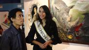 "Alya Nurshabrina Buka Pameran Lukisan Bertajuk ""Emansipasi"""