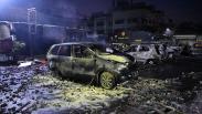 Mobil-Mobil di Asrama Brimob Petamburan Hangus Dibakar Massa