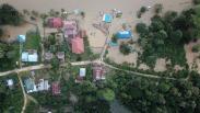 Konawe Masih Terendam Banjir, 5.360 Hektare Sawah Rusak