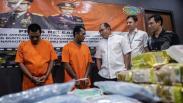 Polri Ungkap Peredaran Narkoba Jaringan Malaysia, 63 Kg Sabu Diamankan