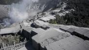 Pascaerupsi, Kawasan Gunung Tangkuban Parahu Tertutup Abu Vulkanik Tebal