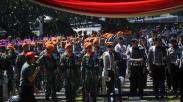 Suasana Persiapan Pemakaman BJ Habibie di Taman Makam Pahlawan Kalibata