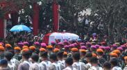 Momen Pemakaman Presiden RI ke-3 BJ Habibie