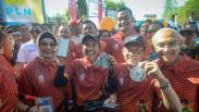 Pelari Gunakan Aplikasi LinkAja saat BNI ITB Ultra Marathon 2019