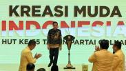 Presiden Jokowi Hadiri Peringatan HUT ke-55 Partai Golkar