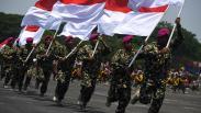 Foto-Foto Aksi Prajurit Baret Ungu saat HUT ke-74 Korps Marinir