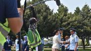 Potret KSAU saat Syuting Film Serigala Langit