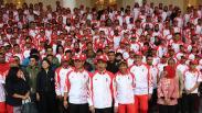 Presiden Jokowi Lepas 841 Atlet Indonesia Menuju SEA Games 2019