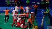 Tim Bulu Tangkis Beregu Putra Indonesia Raih Emas SEA Games 2019
