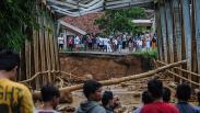 Banjir Bandang Melanda 12 Desa di Lebak, Jembatan dan Rumah Rusak Parah