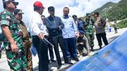 Foto-Foto Presiden Jokowi Tinjau Kondisi Natuna