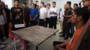 Foto-Foto Rekonstruksi Kasus Pembunuhan Hakim PN Medan Jamaluddin