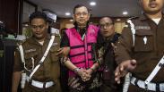 Momen Kejaksaan Agung Tahan Mantan Dirut Jiwasraya Hendrisman Rahim
