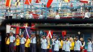 Prajurit TNI dan Nelayan Ikuti Peringatan Hari Dharma Samudera 2020