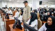 Melihat Suasana Tes SKD CPNS di Jakarta