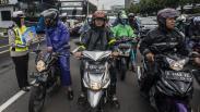 Polisi Sosialisasi Penerapan Tilang Elektronik untuk Sepeda Motor di Jakarta