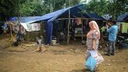 Korban Bencana Banjir Bandang dan Longsor Lebak Menunggu Bantuan Pemerintah
