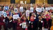 Bawa Pesan Perdamaian, Ribuan Perempuan Pakai Kebaya Pecahkan Rekor Dunia