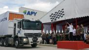 Presiden Jokowi Lepas Ekspor 10.190 Ton Serat Rayon ke Turki