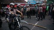Ribuan Pengemudi Ojek Online Bentrok dengan Debt Collector di Yogyakarta