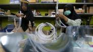 ITS Surabaya Produksi Alat Pelindung Wajah untuk Tenaga Medis COVID-19