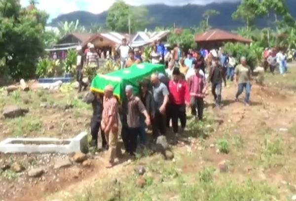 Jenazah Pembakar Polres Dharmasraya Dimakamkan di Merangin Jambi