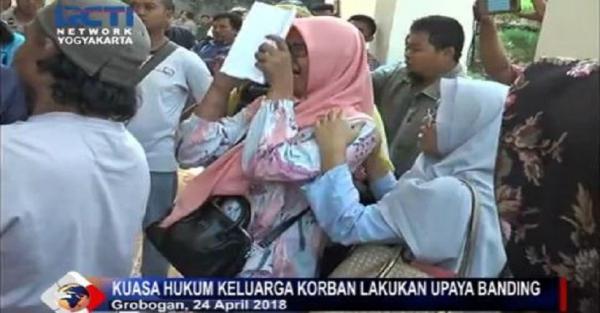 Sidang Kasus Pembunuhan di Grobogan Ricuh, Keluarga Korban Mengamuk