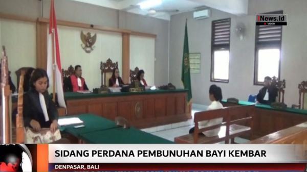 Bunuh Bayi Kembar Hasil Hubungan Gelap, Mahasiswi Bali Divonis 15 Tahun Penjara