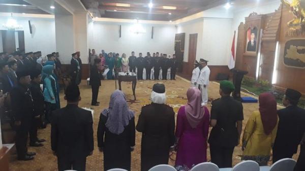 Lantik Wali Kota Mojokerto, Soekarwo: Jangan Lupa Janji saat Kampanye