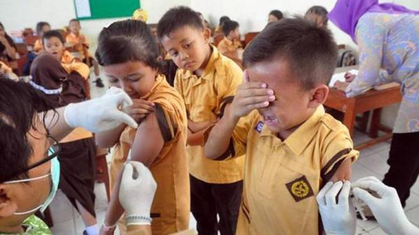 Masih Ada Penolakan, 37.037 Anak di Makassar Belum Dapat Vaksin MR