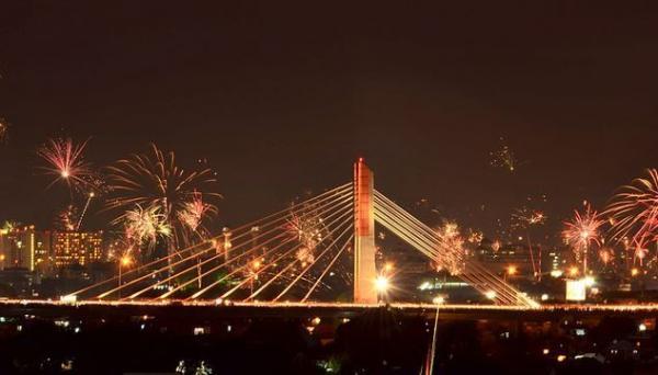 Polisi Imbau Warga Tak Rayakan Tahun Baru di Jembatan Pasopati Bandung