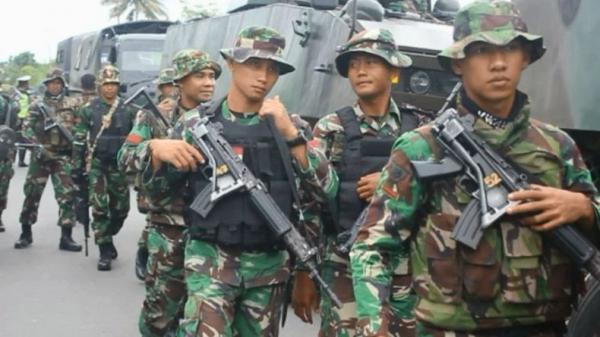 Baku Tembak dengan KKB di Intan Jaya Papua, 1 Prajurit TNI Gugur