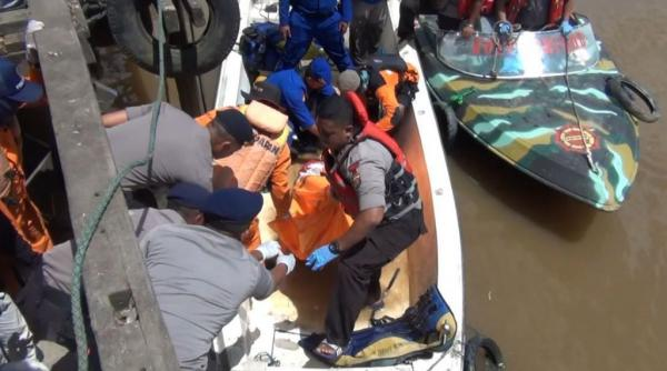 Korban Terakhir Kapal Meledak di Sungai Mahakam Samarinda Ditemukan