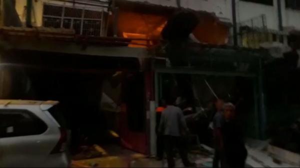 Terjadi Ledakan Dalam Ruko di Medan, 2 Anak Tewas dan 10 Terluka